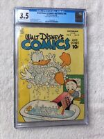 Walt Disney's Comics and Stories #96 Sept 1948 CGC 3.5 Off-White to WHITE pages