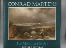 CONRAD MARTENS THE MAN AND HIS ART by LIONEL LINDSAY 1968 Hc Dj Revised Enlarged