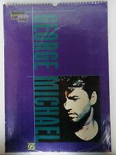 George Michael Bilder Poster Foto Calendar Kalender 1995 - Original Druck ovp.