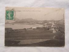 Ancienne carte postale de Primel la pointe et l'hôtel