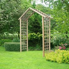 Rose Garden Arch Pergola Climbing Plant Flower Trellis Support Ivy Tall Frame