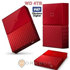 HARD DISK HD 2,5 ESTERNO 4 TB MyPassport USB3.0 RED WDBYFT0040BRD-WESN