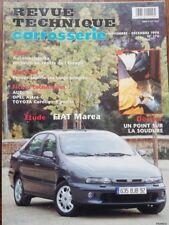 Neuf ! FIAT MAREA Revue technique CARROSSERIE RTA 176 1998 AUDI A6 ASTRA COROLLA