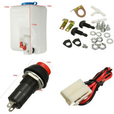 1.8L Car Windshield Washer Bottle with 12V Pump with Hose Jet and Accessories