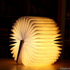 3W Innovative LED Folding Book Lamp Reading Lamp USB Rechargeable Foldable light