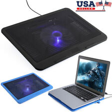 "USB Powered Cooling Pad Large Fan Cooler Stand Bracket For 14"" Laptop Notebook"