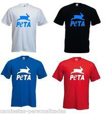CAMISETA PETA  Personas por el Trato Ético de los Animales