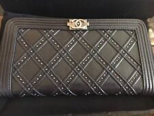 Chanel Paris Dallas Studded Wallet
