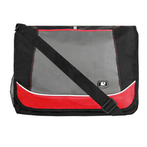 """Sumaclife Canvas Laptop Shoulder Messenger Bag For 15.6"""" HP Pavilion/Acer Spin 5"""