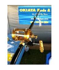 Okiaya Pro National 50W-Ii 2 Speed Reel and Venom Pro Bent Butt Rod