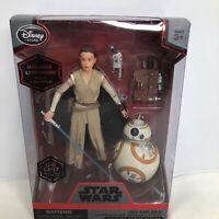 Hasbro Star Wars The Black Series 6-Inch Rey Jakku and BB-8 Action Figure *NEW*