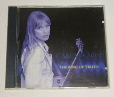 CARLA OLSON THE RING OF TRUTH 2001 ACADIA CD