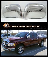 2002-2008 Dodge RAM 1500/2500/3500 CHROME Door Mirror Wing Mirror Cover