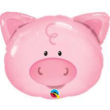 Pig Shaped Animal Balloon Qualatex