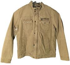 Levis Tan Corduroy Mens Winter Jacket