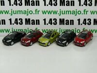 LOT n°2 : 5 X 3 inches 1/64 PEUGEOT NOREV  207 3 porte, cc