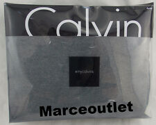 Calvin Klein Modern Cotton Body Jersey FULL / QUEEN Duvet Cover Charcoal Gray