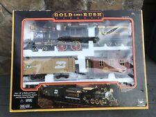 GOLD RUSH EXPRESS Train Set (1996) Vintage Over 18 ft. Of Track! Works