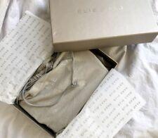 Elie Saab Womens Shoulder Bag - Blue -New - One Size