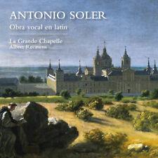 Antonio Soler : Antonio Soler: Obra Vocal En Latín CD (2018) ***NEW***