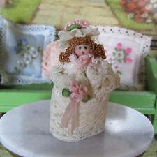 Miniatura Handmade Novia Muñeca Pequeña Casa de Muñecas Guardería Bebé Juguete