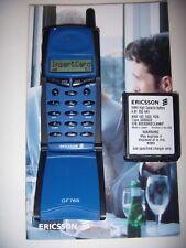 ERICSSON GF768 GSM ORIGINALE 1997 UNICO UNLOCKED+ BATTERIA ORIGINALE NUOVA