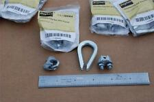 DAYTON 1DKK4 Clip & Thimble Kit, Wire Rope Sz 1/8 In  Dayton 100 Pakages