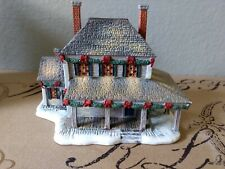 """Lang & Wise Town Hall """" Two Chimneys""""Collectible s #7 1998 Linda Nelson Stocks"""