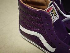 """Vans x Concepts Sk8-Hi TZ Pro """"S"""" SZ 8 US white purple croc. syndicate. cncpts"""