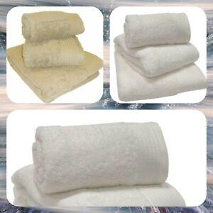 Bedding Heaven® 6 GUEST TOWELS 600gsm 100% Egyptian Cotton 50 cm x  30 cm