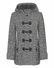 Unbranded Duffle Patternless Coats & Jackets for Women