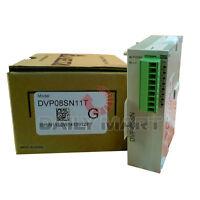 DELTA DVP08SN11T 8 TRANSISTOR OUTPUT FUNCTION PLC MODULE NEW