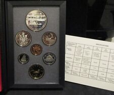 1991 Canada Double Dollar Proof Coin Set - Original Packaging/Paperwork