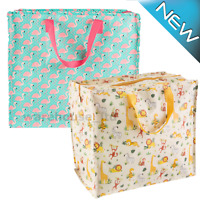 SASS AND BELLE SHOPPER STORAGE SHOPPING TOTE ECO REUSABLE LAUNDRY BEACH BAG