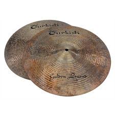 """TURKISH CYMBALS Becken 14"""" HiHat Golden Legend bekken cymbale cymbal 1118/1319g"""