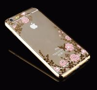Luxury Bling Glitter Shockproof Soft Silicone Case Cover For iPhone 6 6S