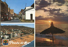 Alte Postkarte - Pineda de Mar