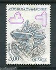 FRANCE - 1986, timbre 2430, MINERAUX, QUARTZ, oblitéré
