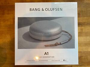Bang & Olufsen A1 (2nd Gen) Waterproof Bluetooth Speaker - Gray Mist Alexa, Siri