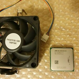 AMD A6-3600 Series AD3650WNZ43GX 2.6GHz Quad-Core CPU Processor Socket FM1