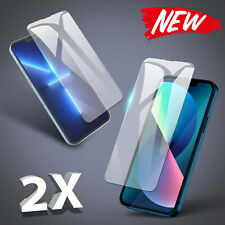 2x Panzerfolie für iPhone 13 / 13 Mini Pro Max Display Schutzglas 9H Glas Klar