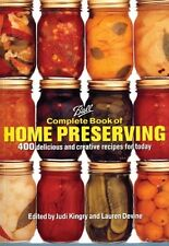 Ball Complete Book of Home Preserving ~ HOME CANNING