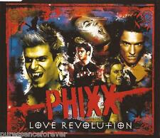 PHIXX - Love Revolution (UK 2 Track CD Single Part 1)