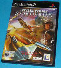 Star Wars Starfighter - Sony Playstation 2 PS2 - PAL