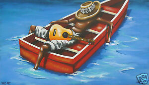 fiji PAINTING ART PRINT CANVAS 2000s australia abstract urban by Andy