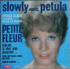 "PETULA CLARK ""SLOWLY AVEC PETULA"" 45T 4 TITRES"