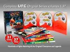 UFC 1-37 BOXSET 21 DVD's