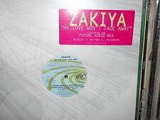 Zakiya - My Love wont fade away ( My Future wont fade away) 5 versions NM