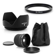 52mm Super Fish Eye 0.18x,Petal Lens Hood for Nikon D50 D60 D70 D100 18-55mm,NEW