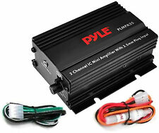 Pyle 2 Channel Car Audio Amplifiers | eBay Pyle Plmpa Wiring Diagram on pyle receiver wiring, pyle plbt72g wiring harness, bridging 4 channel amp diagram, pyle speaker, wall of sound diagram, 4 channel car amplifier diagram,